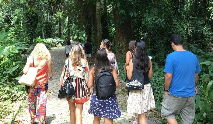 Blogueiros de Viagem no Parque Lage - Viagens Bacanas