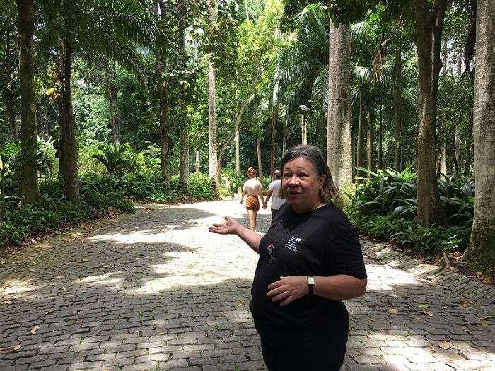 Kátia Rosendo no Parque Lage - Viagens Bacanas