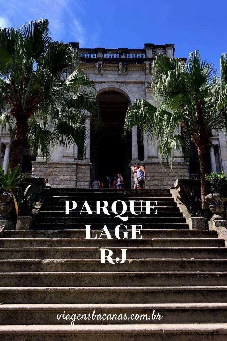 Escadaria do Palacete do Parque Lage - Viagens Bacanas