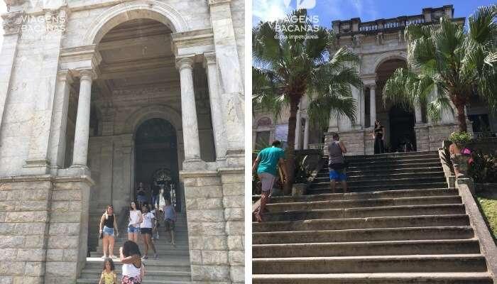 Escadarias no Parque Lage - Viagens Bacanas