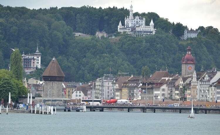 Chateau Gütsch Lucerna - Viagens Bacanas