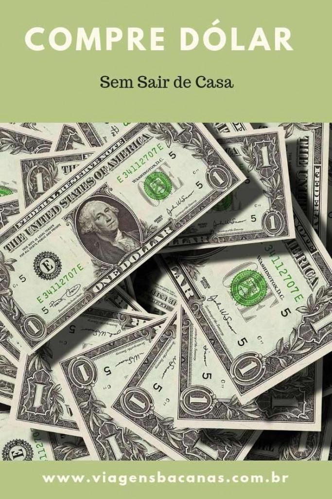 Notas de Dólares - Viagens Bacanas