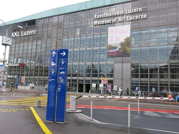 KKL - Centro de Cultura e Convenções de Lucerna - Viagens Bacanas