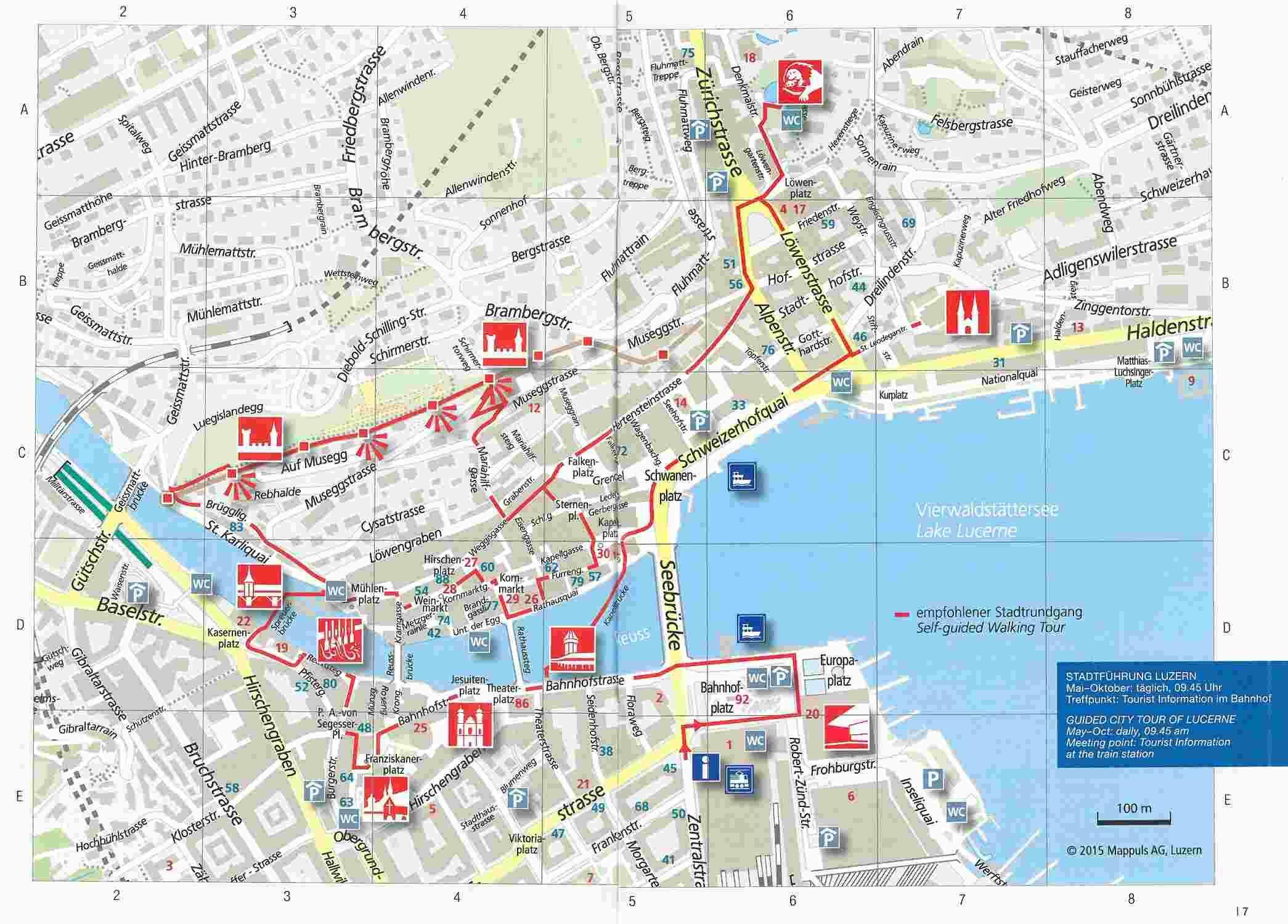 Pontos turísticos de Lucerna - Viagens Bacanas