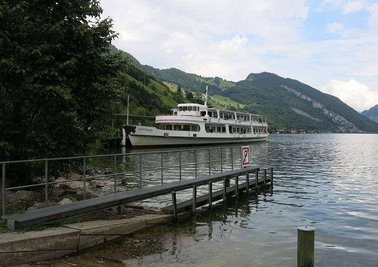 Passeio de Barco no Lago Lucerna - Viagens Bacanas