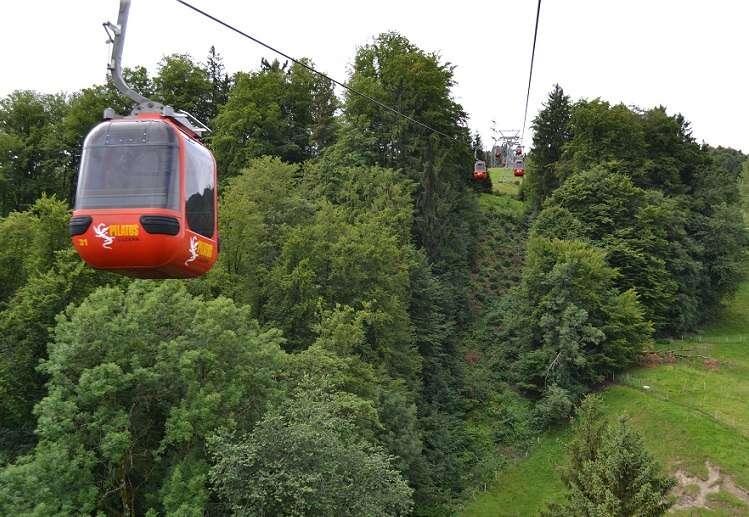 Monte Pilatus em Lucerna - Viagens Bacanas