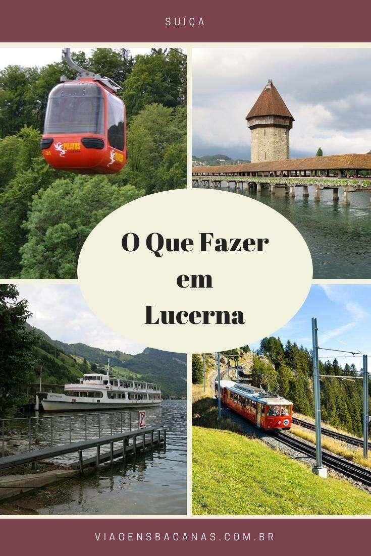 O que fazer em Luzerna - Viagens Bacanas