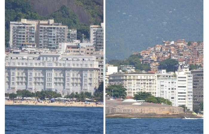 Belmond Copacabana Palace e Forte de Copacabana
