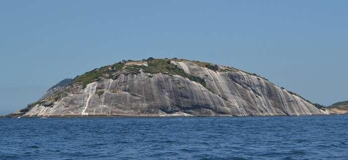 Manchas brancas nas Ilhas Cagarras