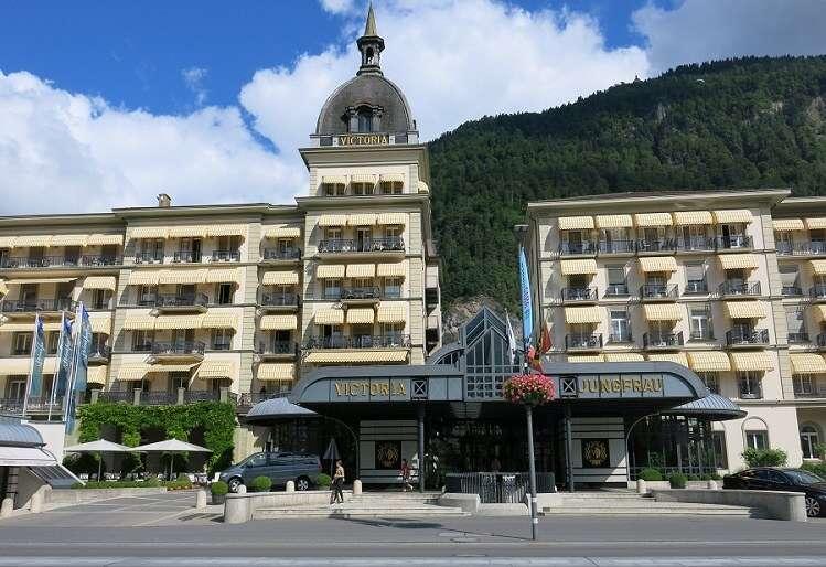 Victoria Jungfrau Grand Hotel & Spa em Interlaken