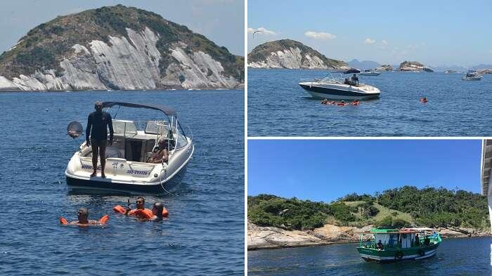 Lanchas nas Ilhas Cagarras - Viagens Bacanas