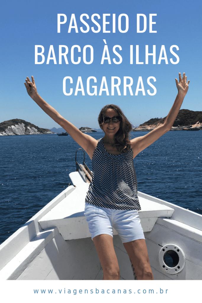 Passeio de barco até as Ilhas Cagarras no Rio de Janeiro - Viagens Bacanas