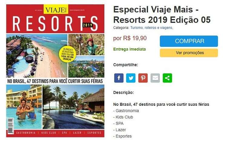 Guia Resorts 2019 - Especial da Revista Viaje Mais