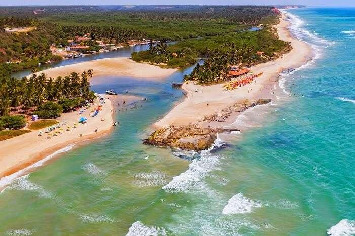 Dunas de Marapé em Alagoas