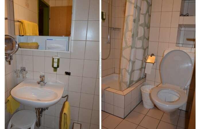 Banheiro do Hotel Toscana