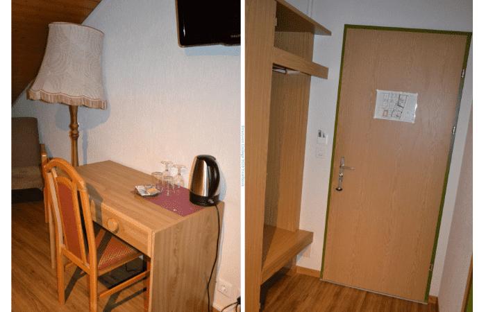 Quarto do Hotel Toscana em Interlaken