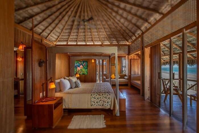 Quarto no Jaguaribe Lodge
