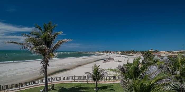 Praia Pontal de Maceió em– Fortim