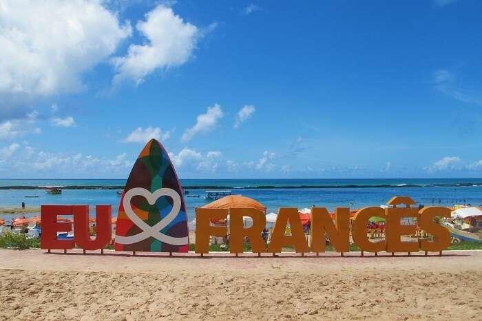 Praia do Francês em Alagoas