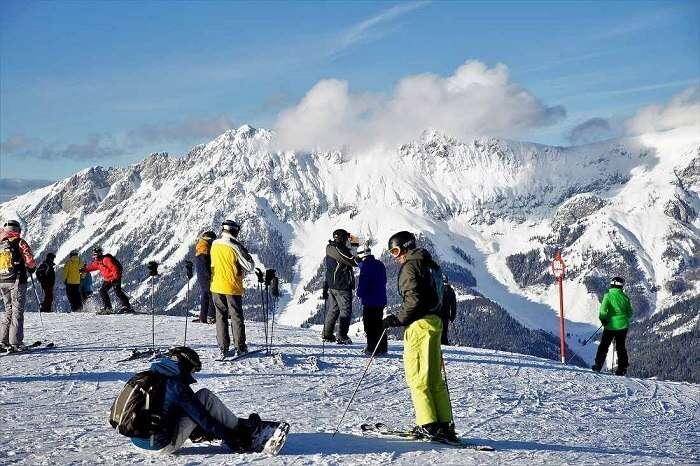 Estação de esqui - Viagens Bacanas