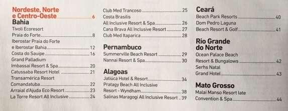 Guia Resorts 2019