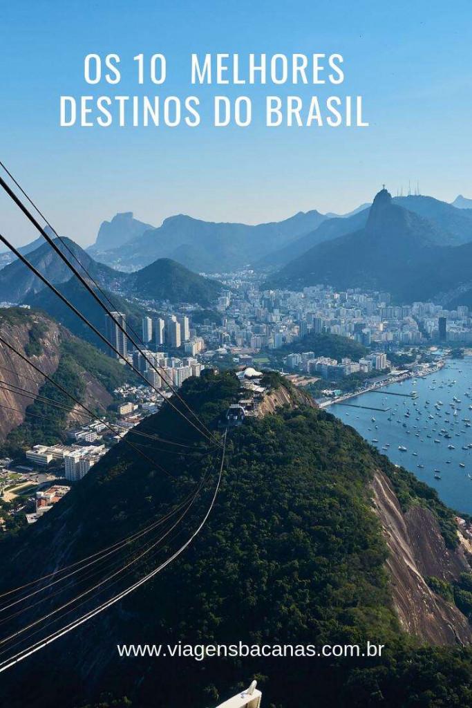 Melhores Destinos do Brasil - Viagens Bacanas