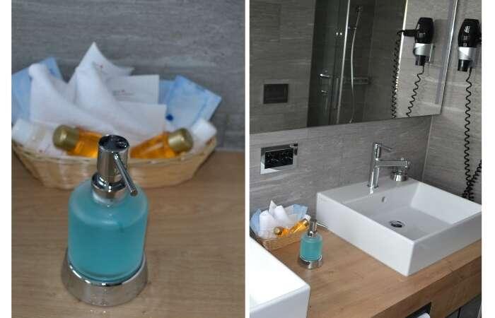 Banheiro do Hotel ABC Chur - Viagens Bacanas