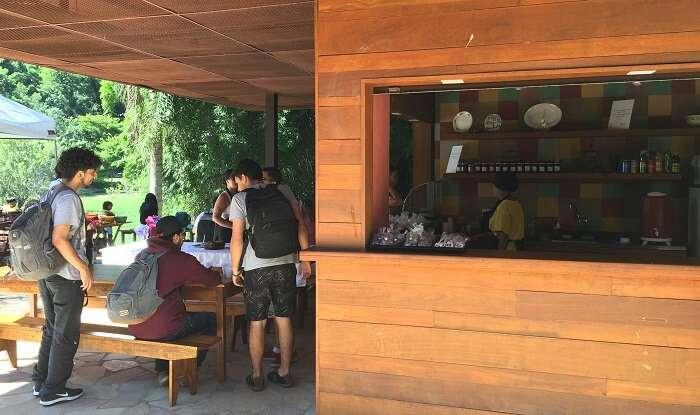 Quiosque  do Parque Arqueológico e Ambiental de São João Marcos