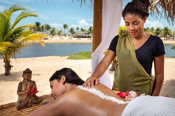 SPA do Pratagy Beach All Inclusive Resort Maceió - Foto divulgação