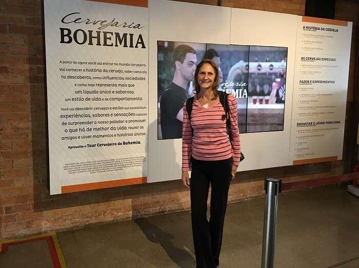 Recepção da Bilheteria da Cervejaria Bohemia em Petrópolis