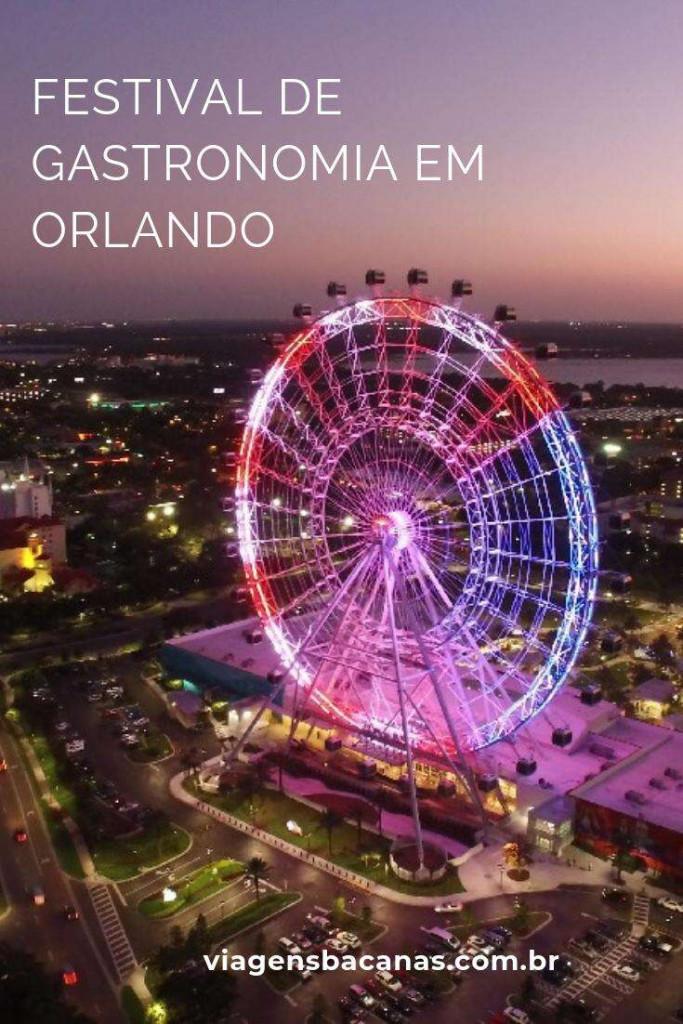 Festival de gastronomia em Orlando