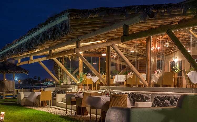 Restaurante do Hotel Vila Selvagem