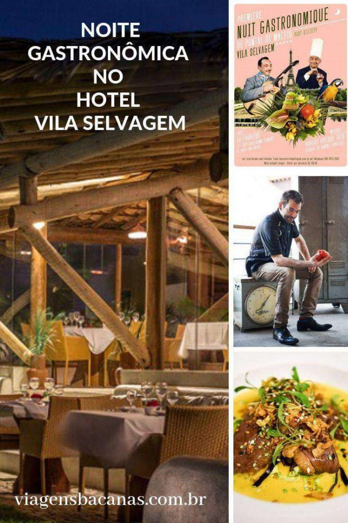 Noite Gastronômica no Hotel Vila Selvagem
