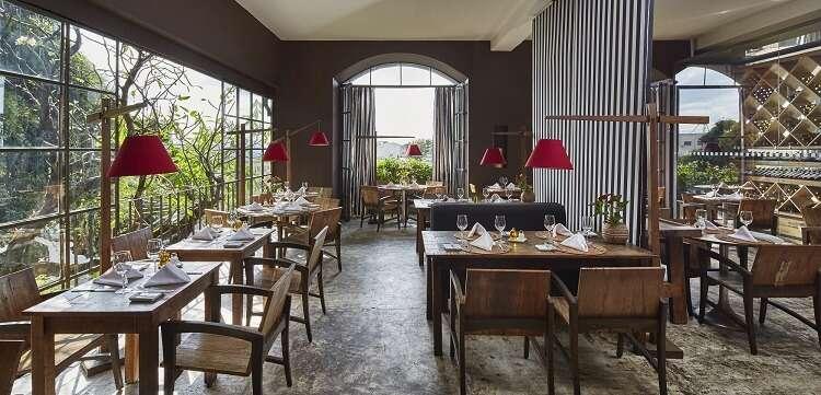 Restaurante Térèze do Hotel Santa Teresa - Viagens Bacanas