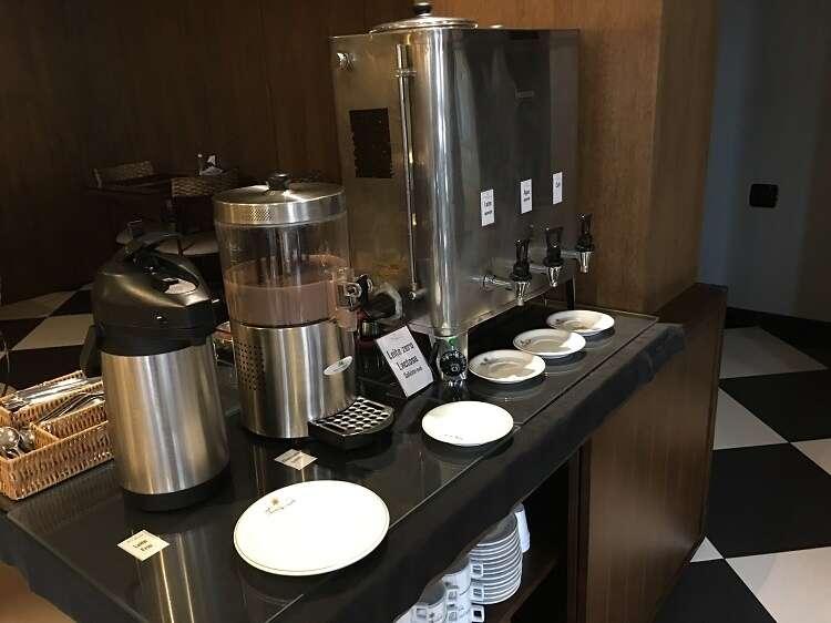 Café da manhã no Hotel Serra Nevada
