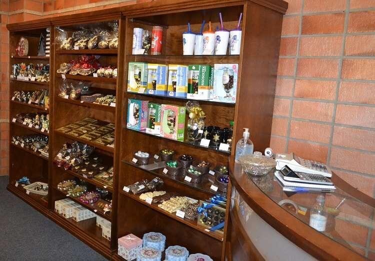 Loja de chocolate no Hotel Serra Nevada em Canela