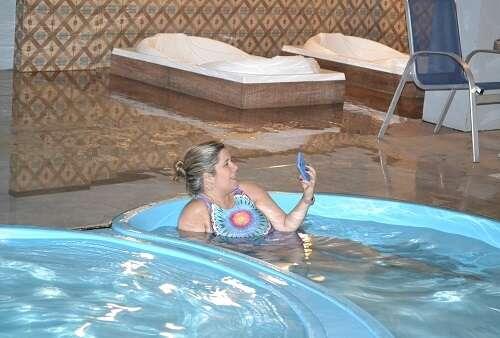 Piscina do Hotel Serra Nevada em Canela