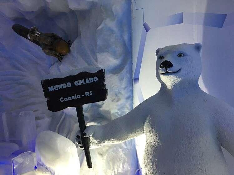 Ice Bar Mundo Gelado do Capitão