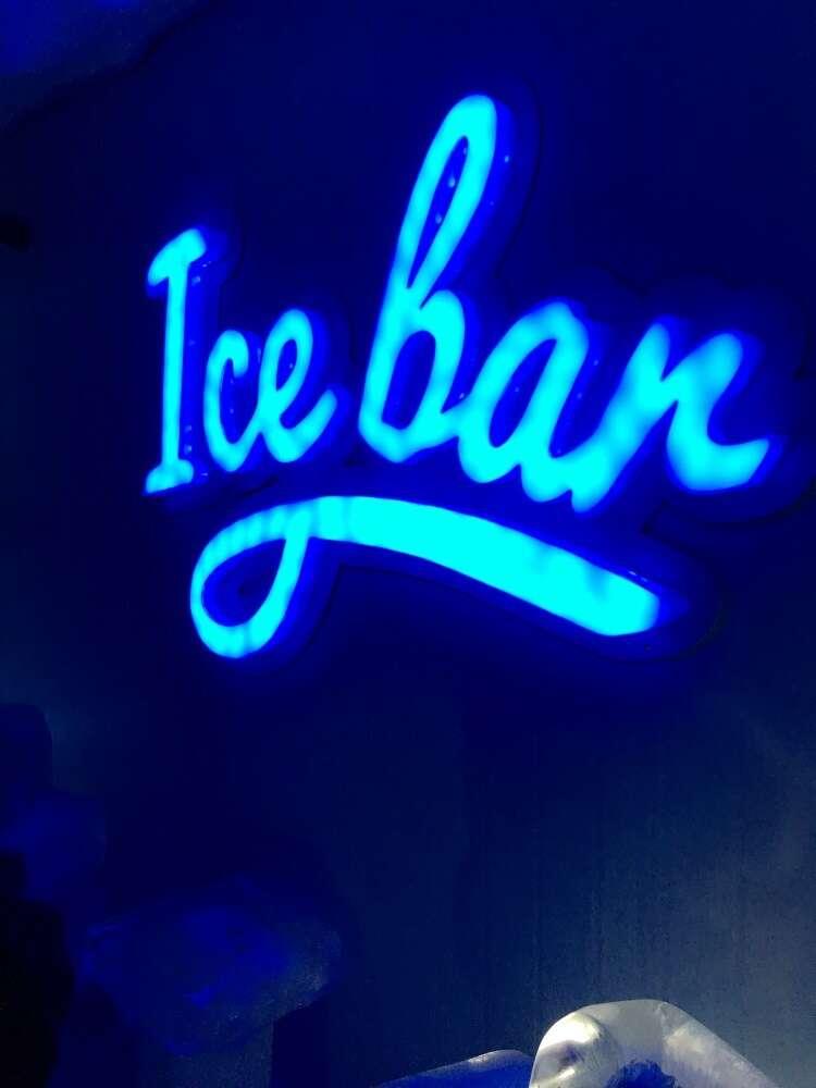 Ice Bar Mundo Gelado em Canela