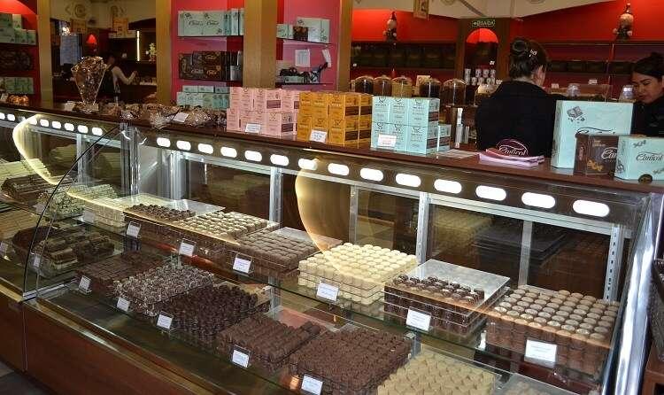 Loja do O Reino do Chocolate - Viagens Bacanas