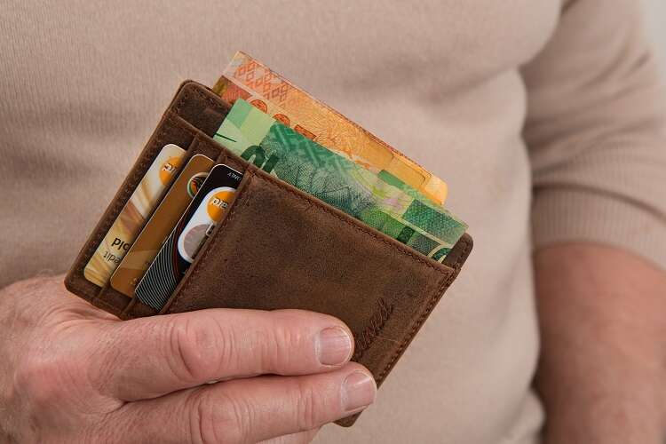 Carteira de dinheiro