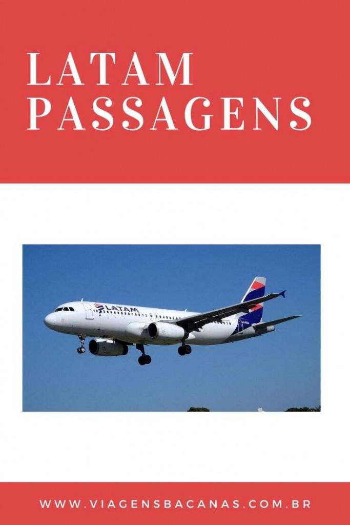 LATAM passagens aéreas - Viagens Bacanas