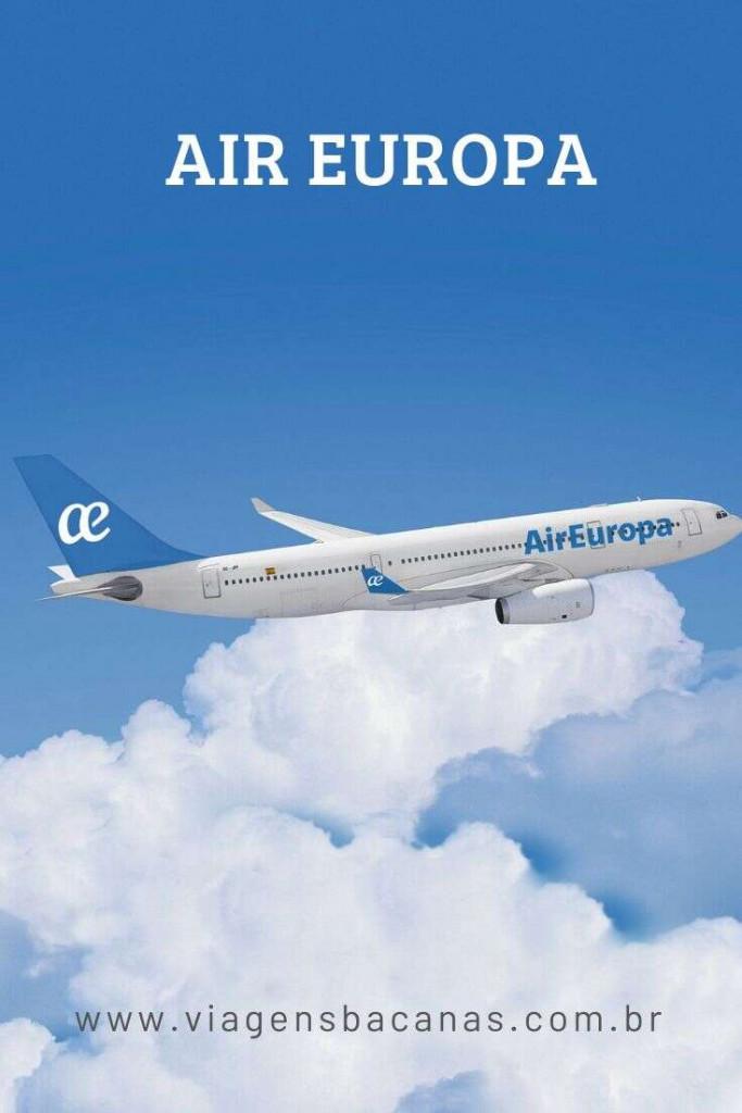 Air Europa - Viagens Bacanas