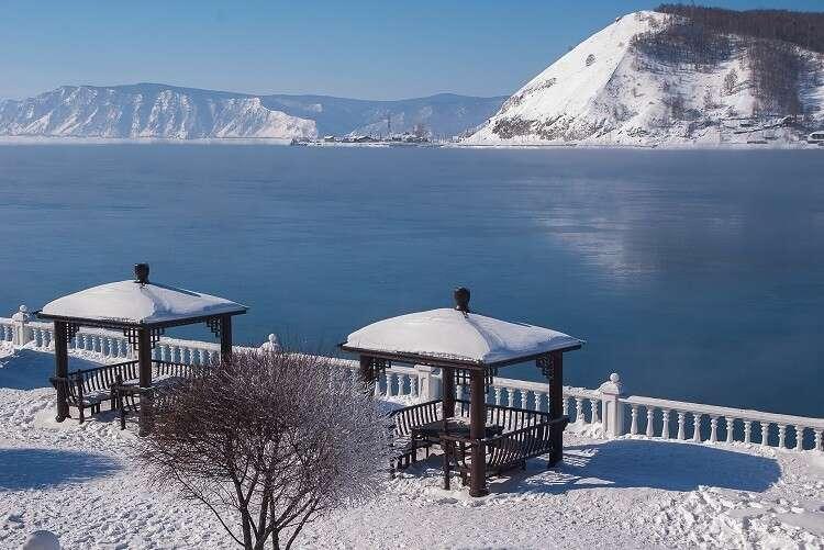 Lago Baikal - foto divulgação