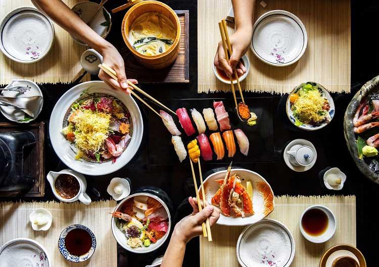 Comida japonesa - Viagens Bacanas