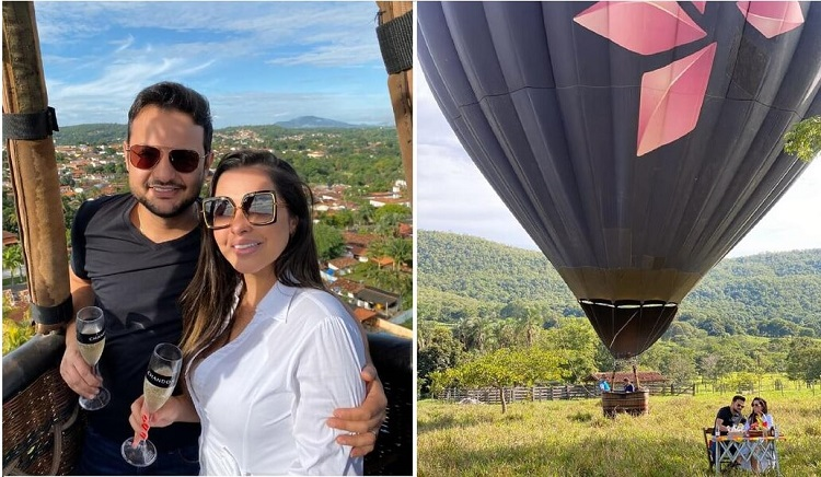 Passeio de balão em Pirenópolis - Viagens Bacanas