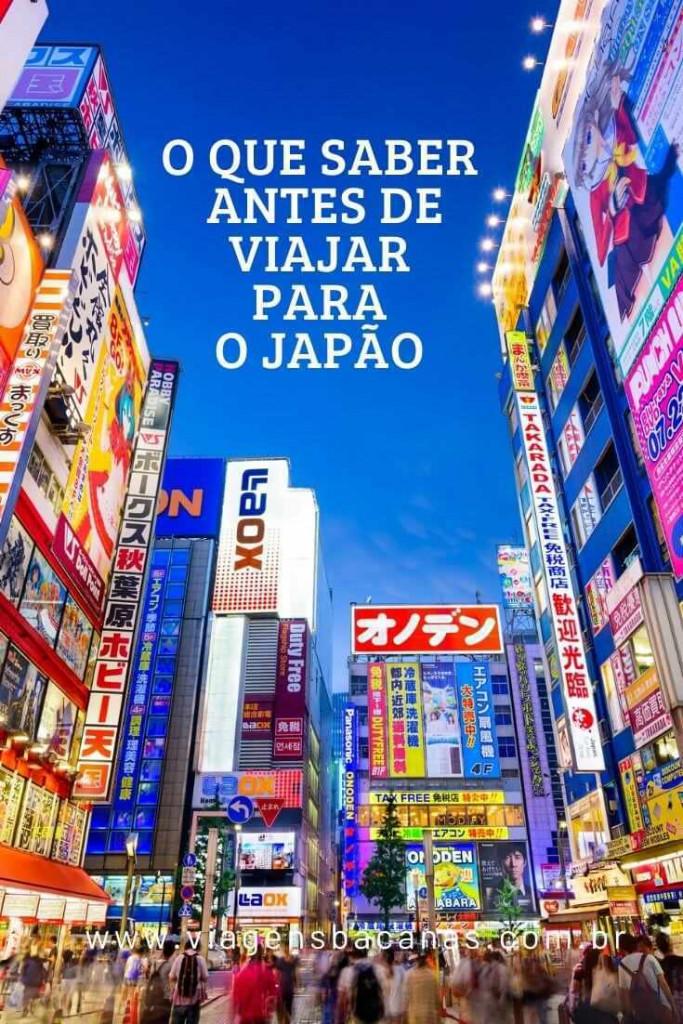 O que Saber antes de viajar para o Japão