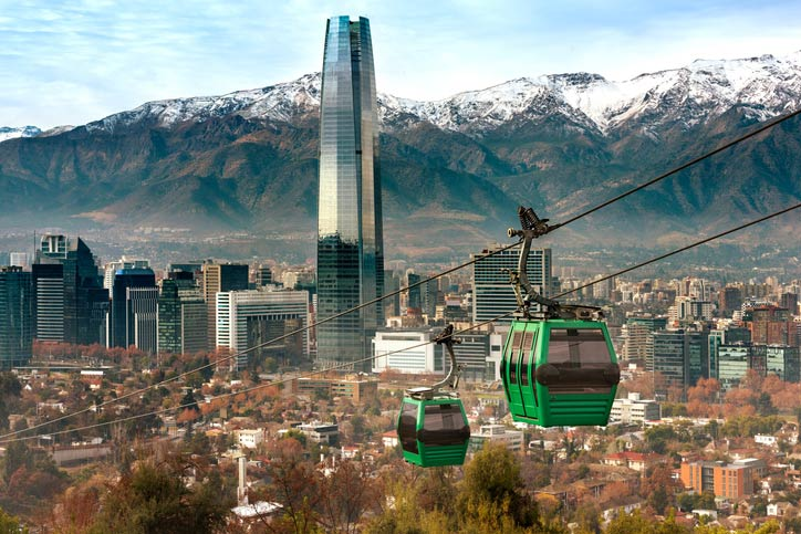 Santiago - Chile - Viagens Bacanas