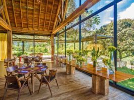 Restaurante do Botanique Hotel & Spa - Viagens Bacanas