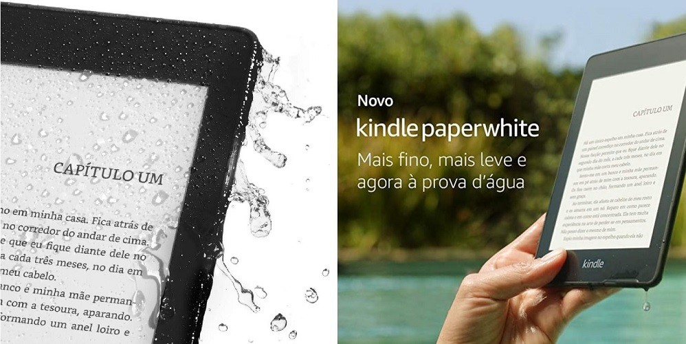 Kindle Paperwhite - Viagens Bacanas